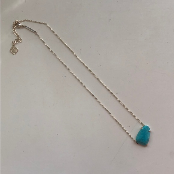 Kendra Scott Jewelry - Turquoise and Gold Kendra Scott Necklace